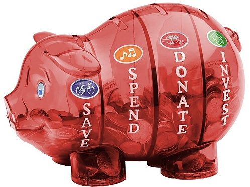 Money Savvy Pig - RED