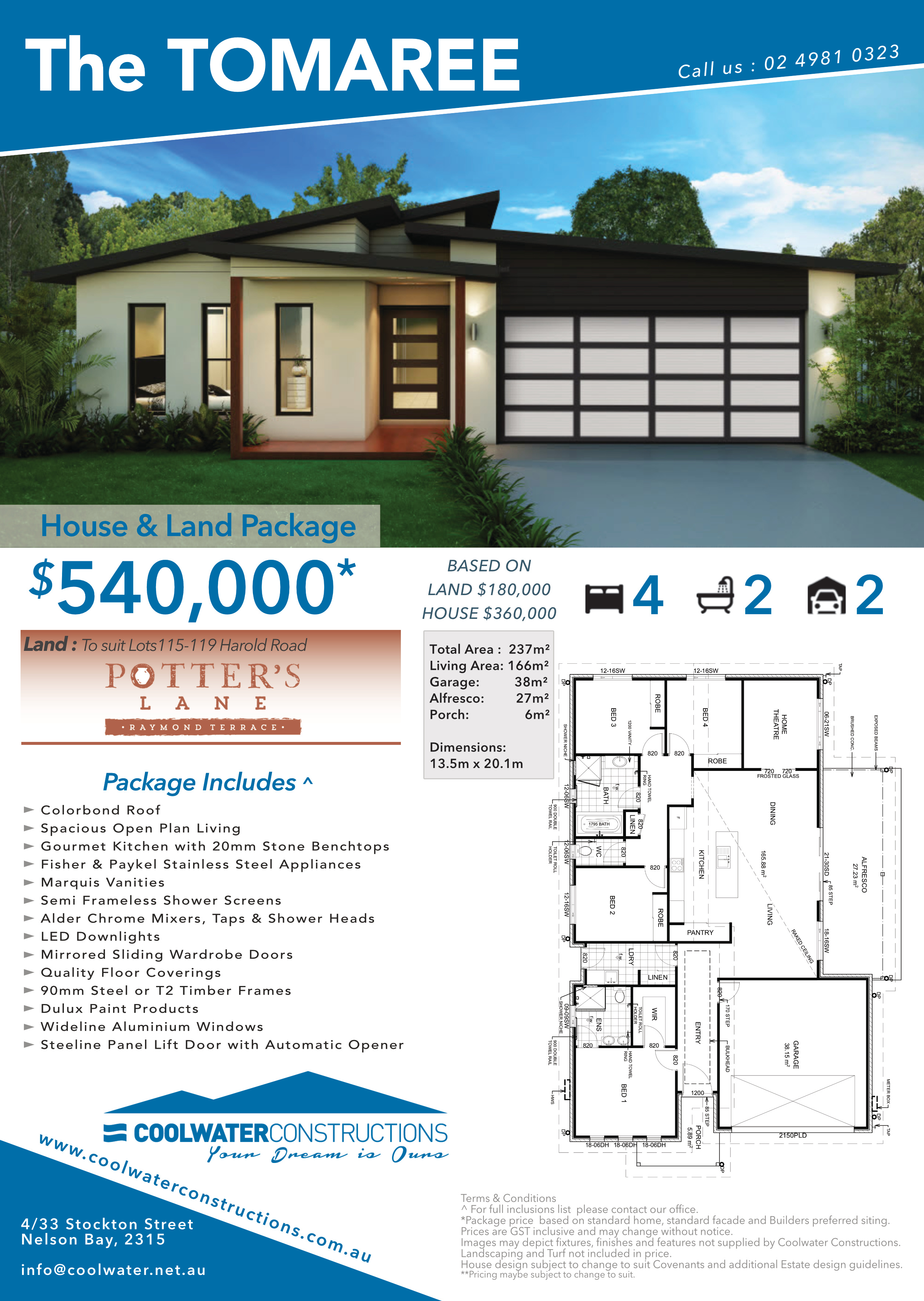 House and Land Package - The Tomaree