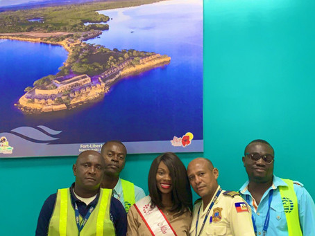 Miss Haiti New York In her Home country