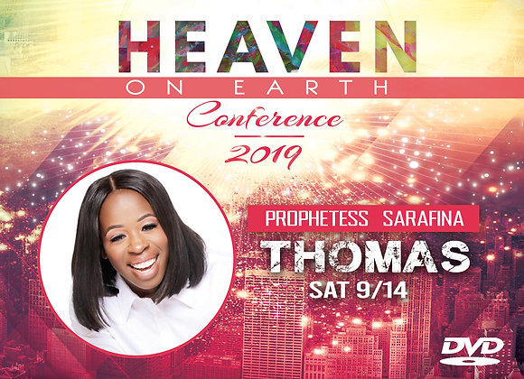 HOEC19 Prophetess Sarafina Thomas DVD   Sat 9.14.19