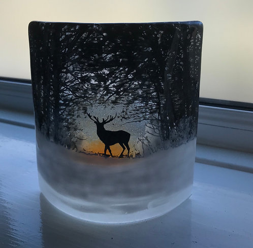 Glass Stag