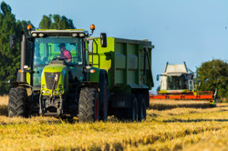 Tractor and combine 5