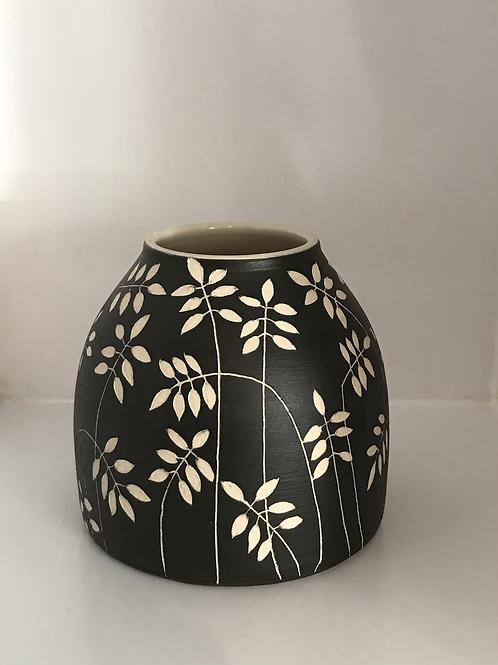 Black Dome Vase