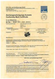 VPA-GS Ausweis