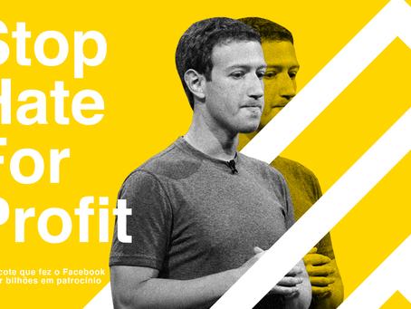 Chega de ódio pelo lucro: boicote faz Facebook perder bilhões em patrocínio