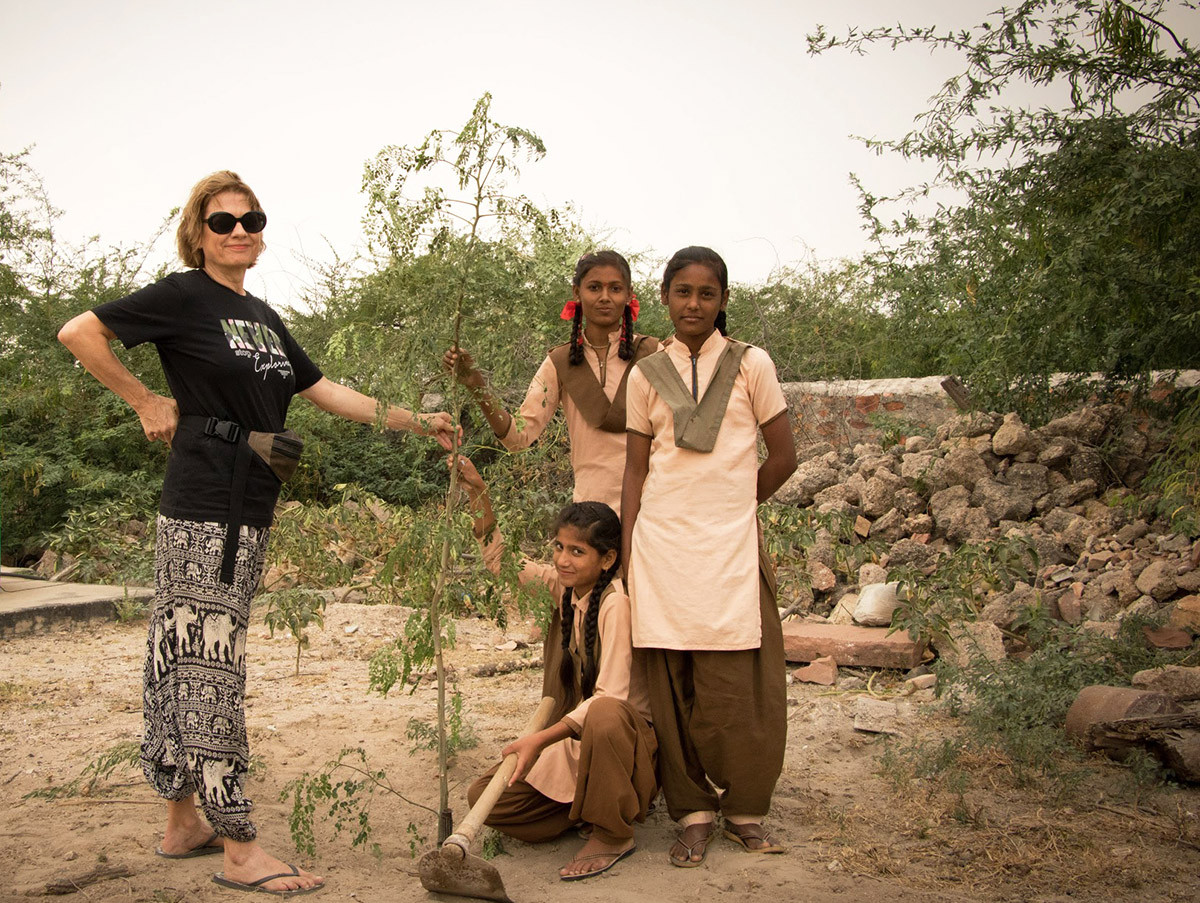 Planting of Moringa Tree