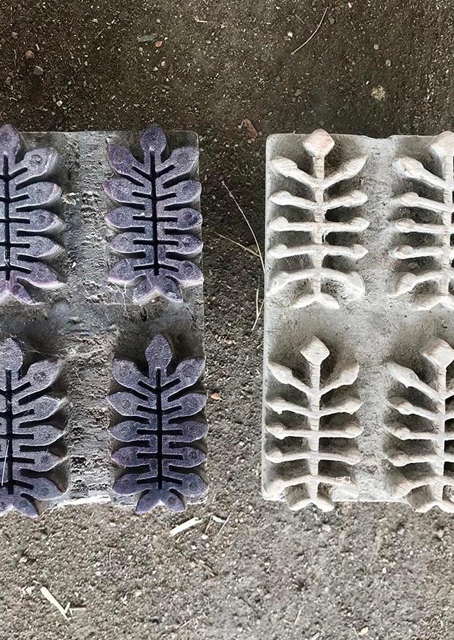 Blocks for Babooliya print