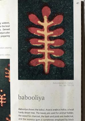 Babooliya print