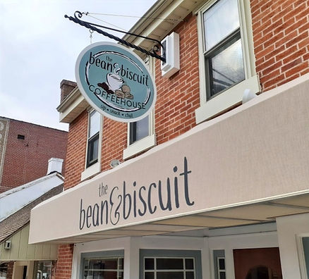The Bean and Biscuit Shop Exterior