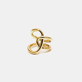 Золотое кольцо изготовленное на заказ