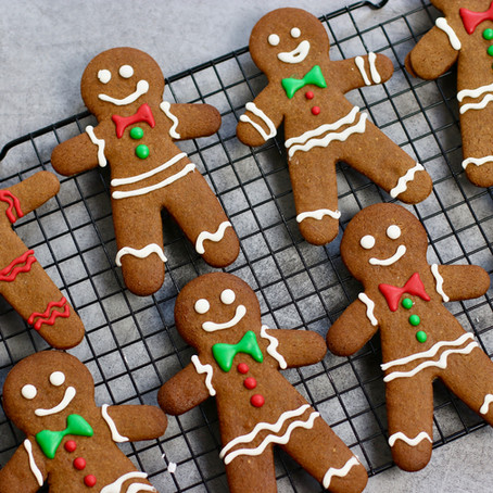 Biscuits Bonhomme Pain d'Epices (Gingerbread Men)