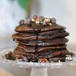 Pancakes goût Brownies