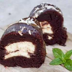 Gâteau chocolat & cheesecake (Bundt Cake)