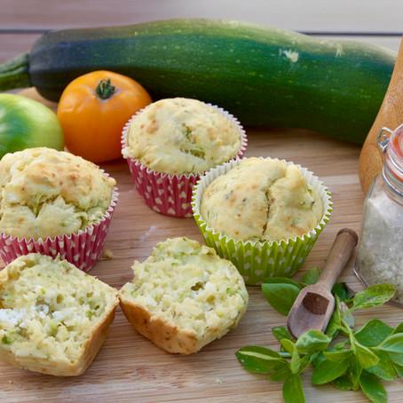 Muffins salés Courgette-Chèvre