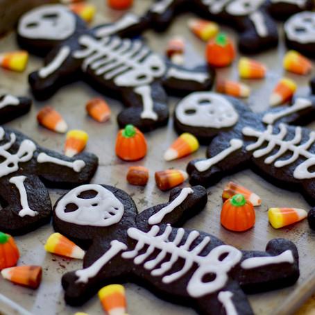 Halloween: Sablés Squelette