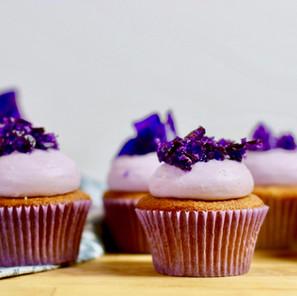 Cupcakes Earl Grey Lavande