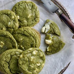 Cookies Thé Matcha - Chocolat Blanc