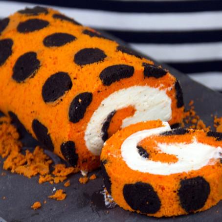 Gâteau roulé spécial Halloween