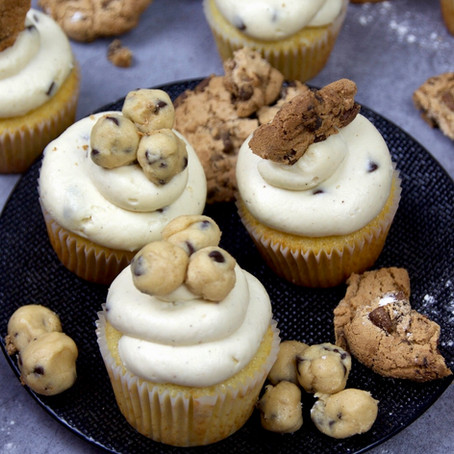 Cupcakes cookie dough