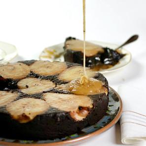 Gâteau Chocolat Noir & Poires au Gingembre