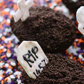 Gâteaux Cimetière spécial Halloween