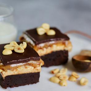 Brownies goût Snickers