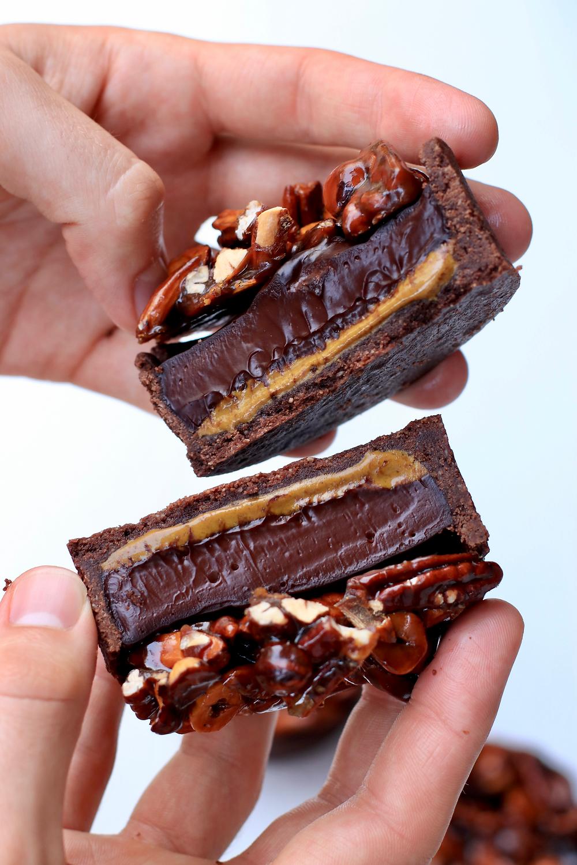 Tartelette chocolat noix pistache