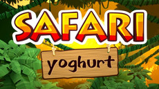 Safari yoghurt - Less sugar
