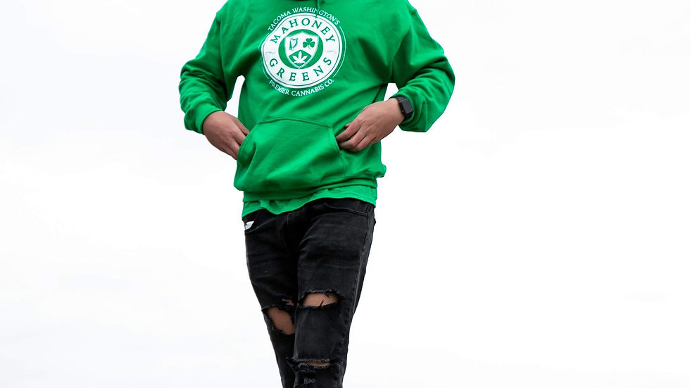 'OG GREEN' Sweatshirt ( MG Premium Collection )