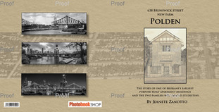 Cover of booklet on the history of the building