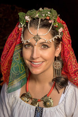 """Gypsy Headdress"""