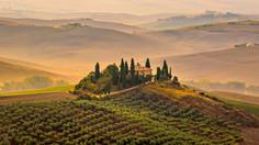 """Tuscan Hills"""