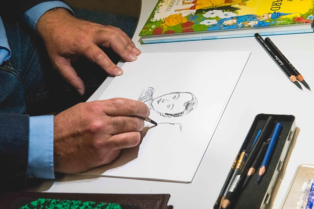Live Drawing With Chris Riddel