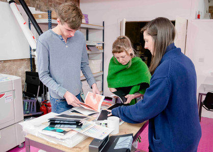 Dizzy Ink Zine Workshop