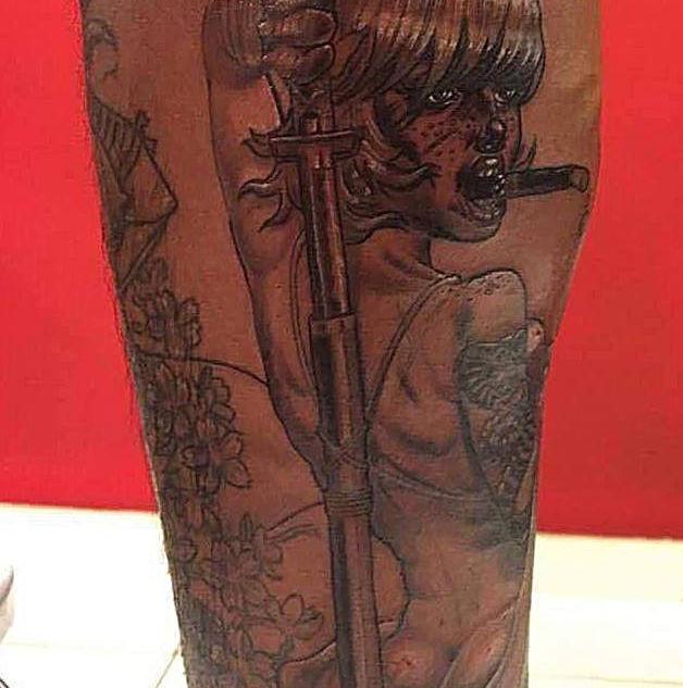 Samurai Girl 1/2