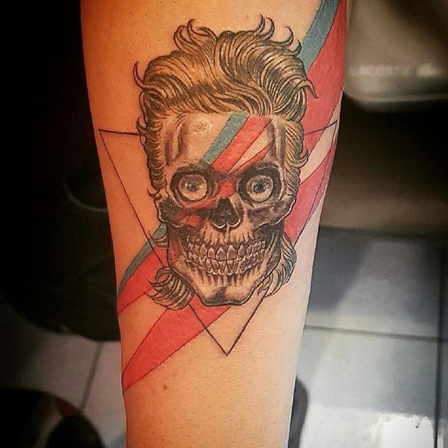 Ziggy stardust Skull