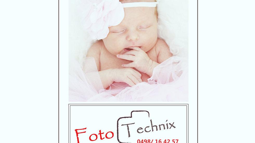 newborn 1 uur fotoshoot op Locatie thuis