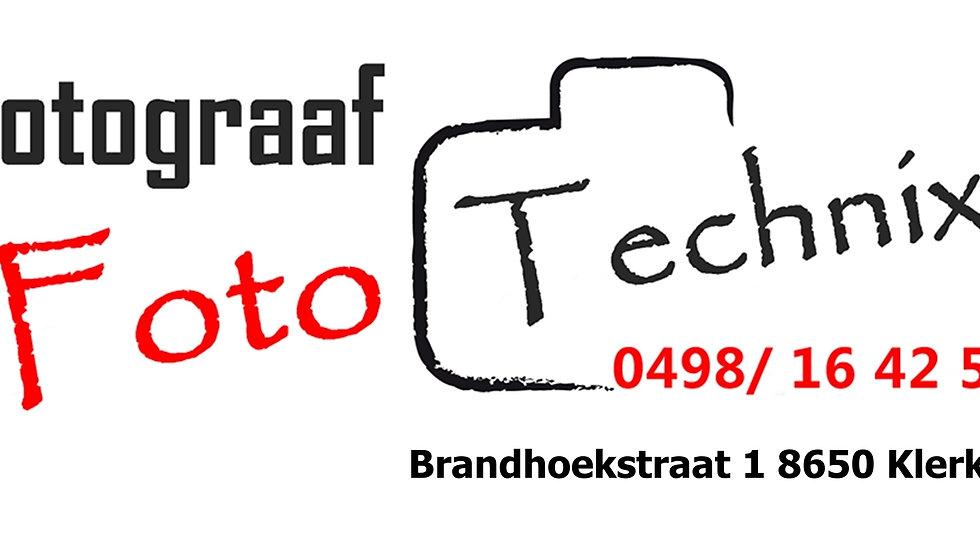 Foto Technix 4 uur fotoshoot