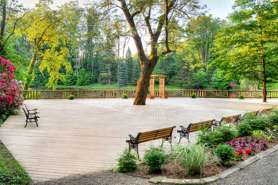 Wiegand's Lake Park -         The Wedding Deck