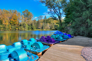 Wiegand's Lake Park - Paddle Boats