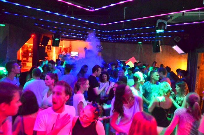 Partynacht in Würzburg