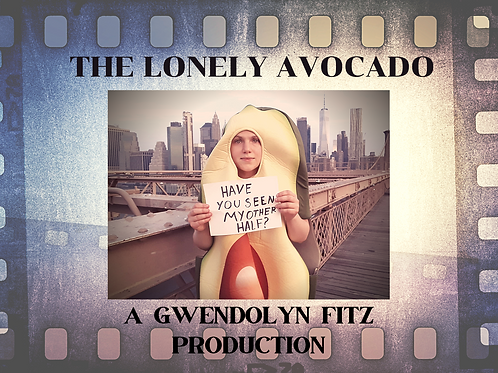 The Lonely Avocado Movie Postcard