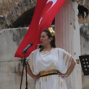 Soprano Olcay Şahin: Afrodit'in kentinde klasik müzik dinletisi