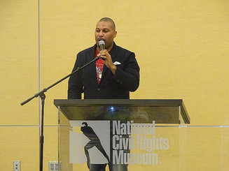 Layon Speaks at the National Civil Rights Museum