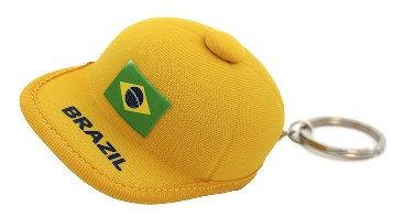 BrHaKe - Brazil Hat Keychain, 10cm