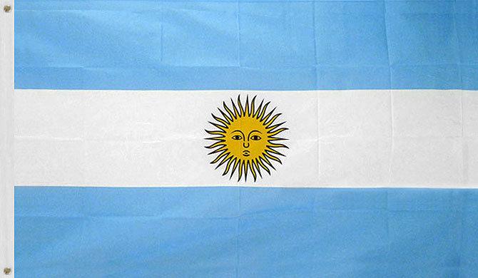 Argentina 3x5 Flag