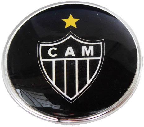Atletico Mineiro Lg Plastic Brazil Soccer Magnet