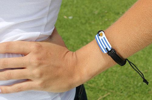 Uruguay Leather Bracelet