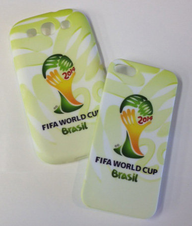 Samsung S3. World Cup Green Cellphone Cover