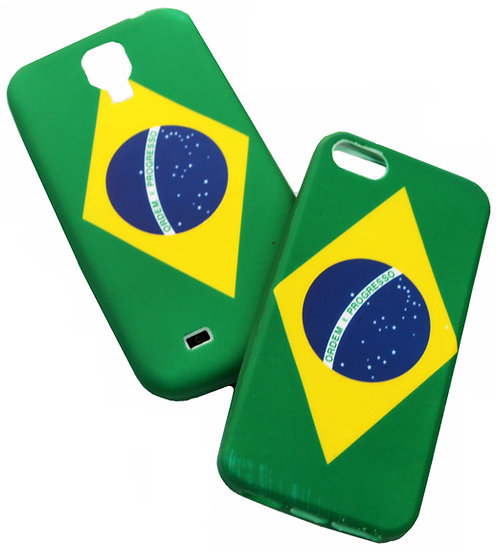 iPhone 5 & 5S. Brazil Clean Cellphone Cover
